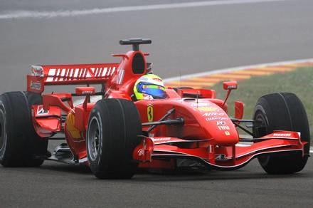 Ferrari F2007 / Kliknij /AFP