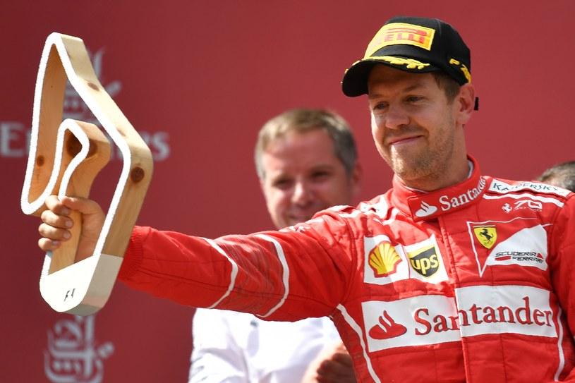 Ferrari jest zadowolone z Vettela /AFP