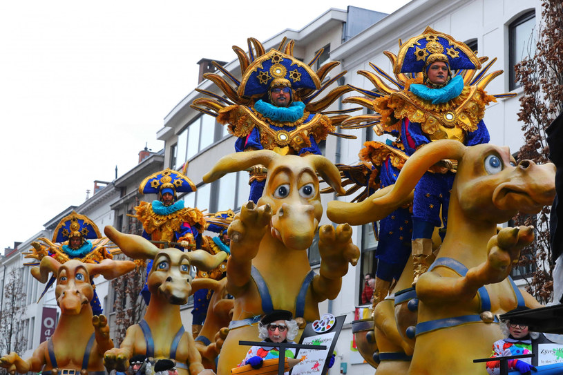 Festiwal karnawałowy w belgijskim Aalst /Imago/Xinhua/ /East News