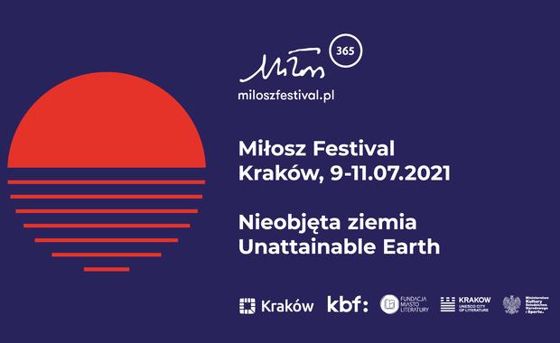 Festiwal Miłosza: Znamy hasło i pierwszych gości 10. edycji