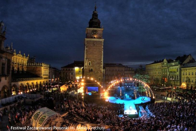 Festiwal odbywa się od 9 lat w czerwcu na Rynku Głównym w Krakowie /materiały prasowe