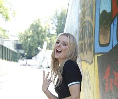 Festiwal w Opolu 2014: Halina Mlynkova chwali się brzuchem