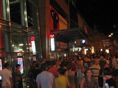 Festwial przyciągnął do kina tłumy /INTERIA.PL