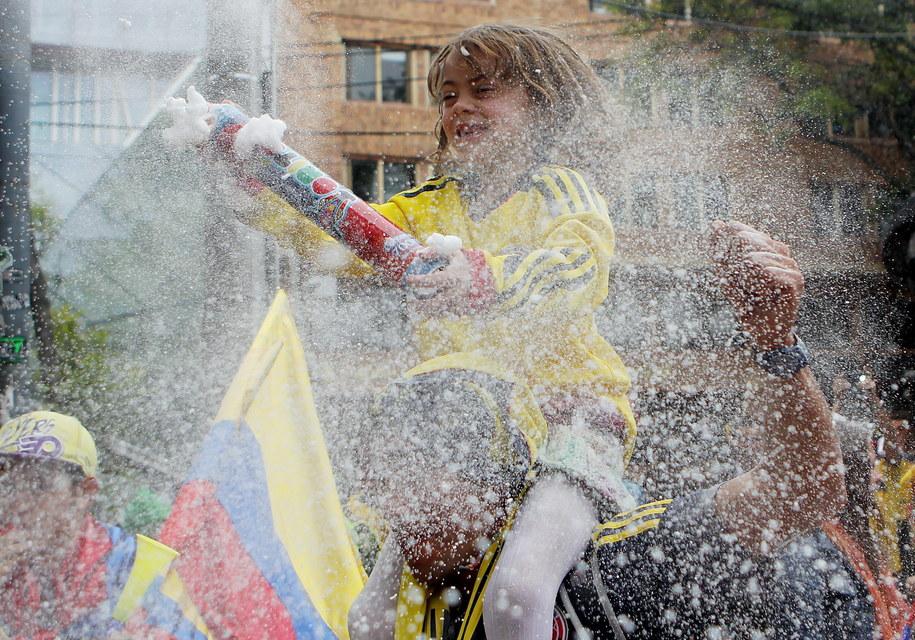 Feta w Bogocie //LEONARDO MUNOZ /PAP/EPA