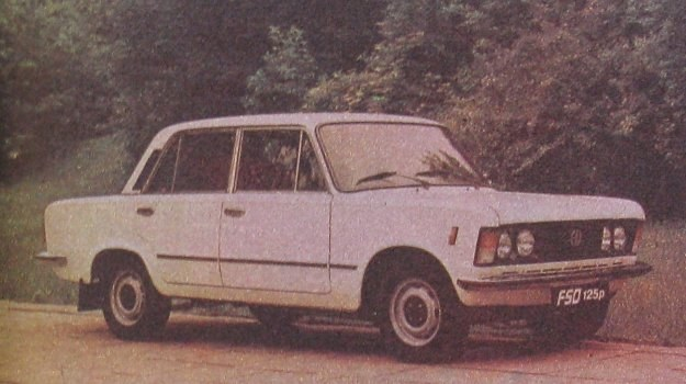 Fiat 125p 1.6 D /Motor