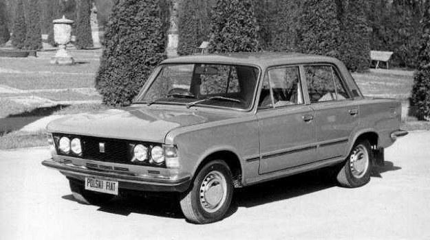 """Fiat 125p po pierwszym """"liftingu"""" z 1973 roku. /Fiat"""