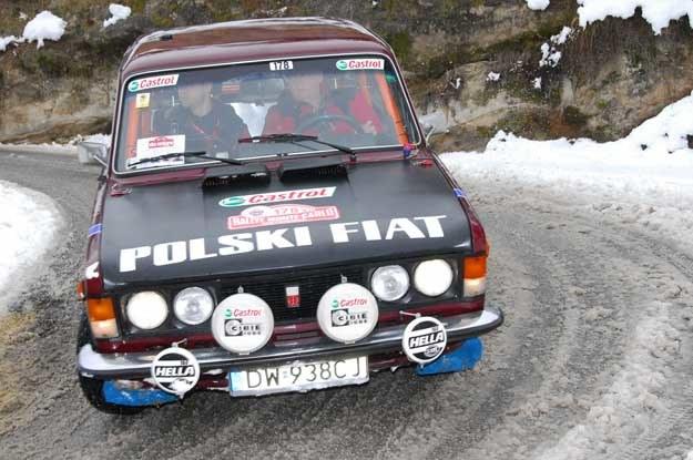 Fiat 125p w barwach Castrol Team Poland /