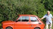 """Fiat 126p. """"Zostanie ze mną już do końca życia. Mojego życia..."""""""