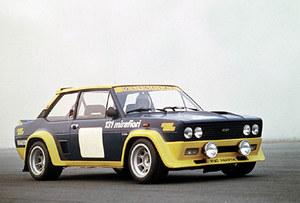 Fiat 131 Abarth w barwach Olio Fiat /Fiat