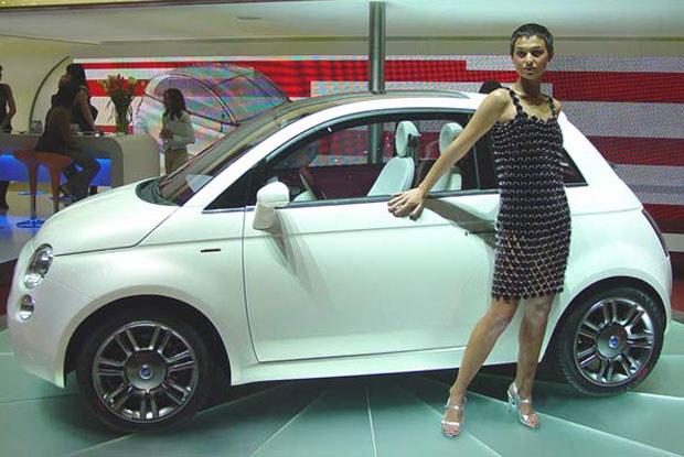 Fiat 500 może wyglądać tak... / Kliknij /INTERIA.PL/PAP
