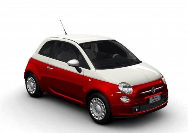 Fiat 500 - przebojowa pięćsetka w barwach narodowych, teraz tańsza o 4 500 zł. /