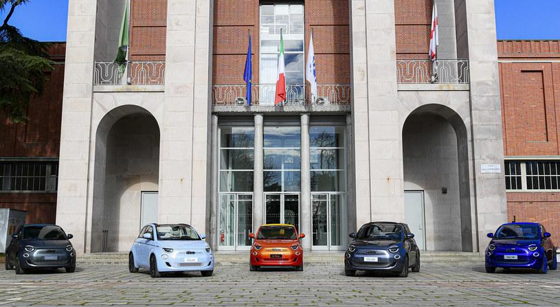 Fiat 500e dostępny  będzie w wielu kolorach. /