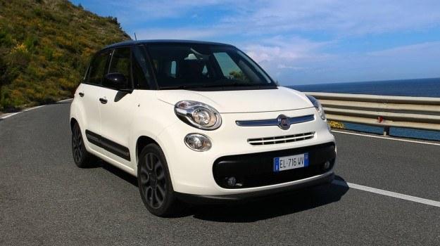 Fiat 500L produkowany jest w Serbii. /Fiat