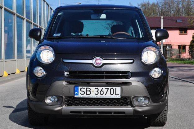 Fiat 500L Trekking /INTERIA.PL