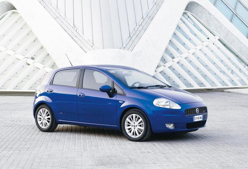 Fiat Grande Punto z 2005 roku /
