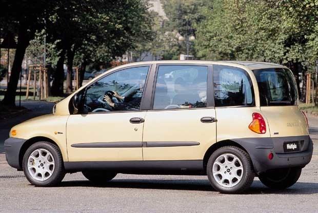 Fiat Multipla - najładniejszy? (kliknij) /INTERIA.PL
