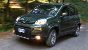 Fiat Panda 4x4 - pierwsza jazda