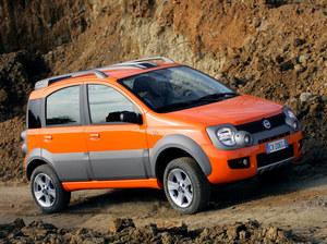 Fiat Panda Cross poprzedniej generacji (2006-2012) /Fiat