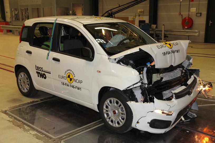 Fiat Panda dostał zero gwiazdek... /