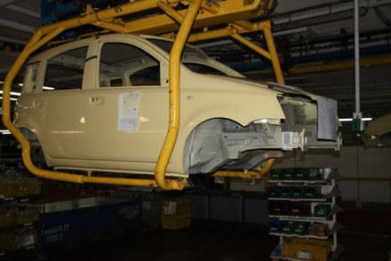 Fiat panda na linii montażowej w Tychach /INTERIA.PL