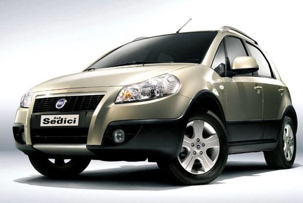 Fiat sedici / Kliknij /INTERIA.PL