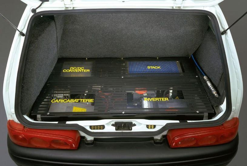 Fiat Seicento z napędem elektrycznym /