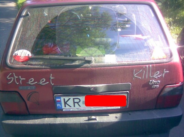 Fiat uno street killer.