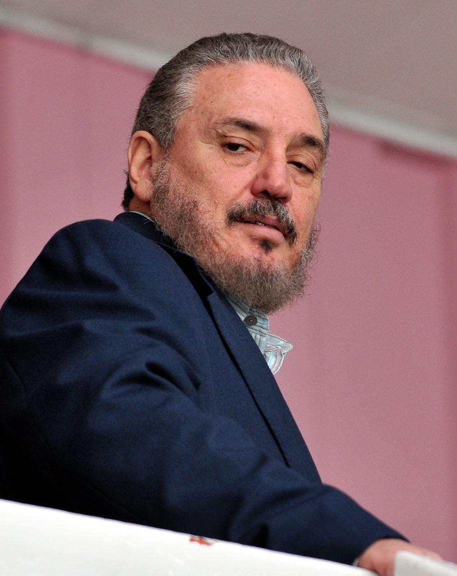 Fidel Castro Diaz-Balart /ALEJANDRO ERNESTO  /PAP/EPA