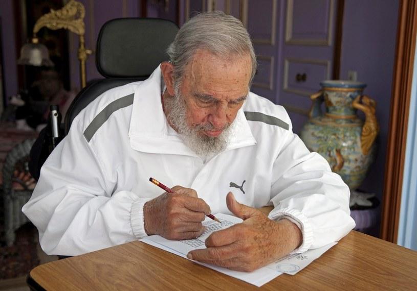 Fidel Castro, kwiecień 2015. Źródło: AP/FOTOLINK /East News