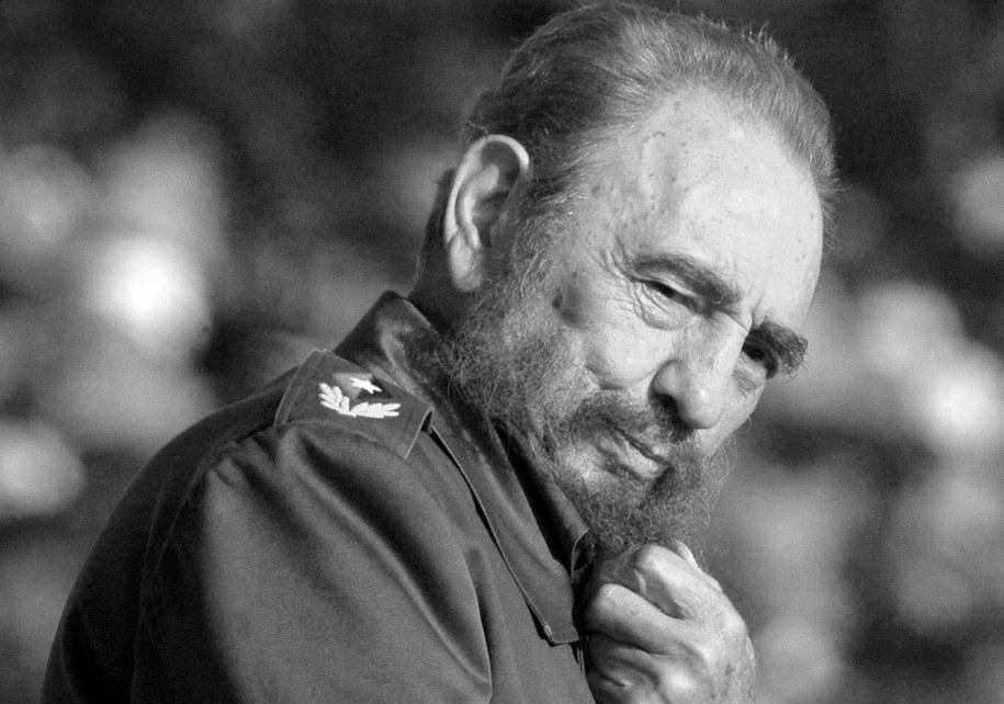 Fidel Castro na zdj. z 2006 roku /PAP/EPA/ALEJANDRO ERNESTO /PAP/EPA
