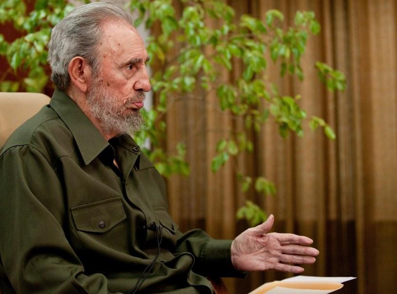 Fidel Castro w ostatnich latach życia /Photoshot/REPORTER /East News