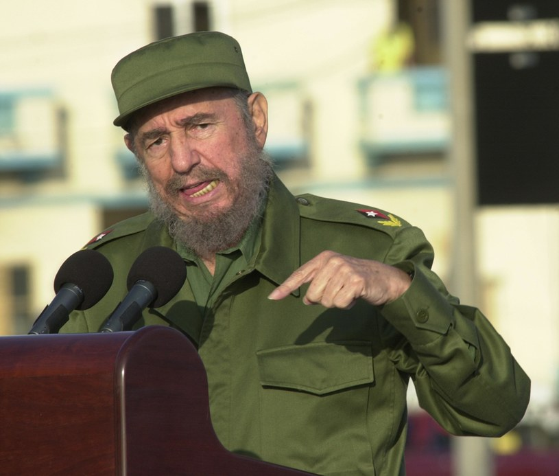Fidel Castro /Getty Images