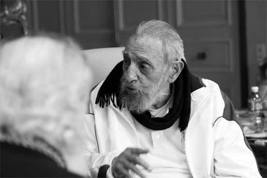 Fidel Castro /ALEX CASTRO/JUVENTUD REBELDE/HANDOUT /PAP/EPA