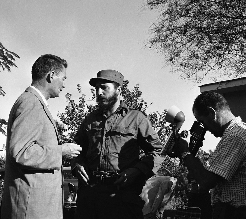 Fidel w 1959 roku /ASSOCIATED PRESS/FOTOLINK  /East News