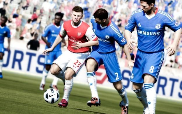 FIFA 12 - motyw graficzny /Informacja prasowa
