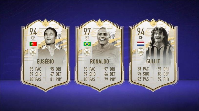 FIFA 21: Karty z trybu FIFA Ultimate Team /materiały prasowe