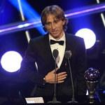 FIFA: Chorwat Luka Modric najlepszym piłkarzem świata