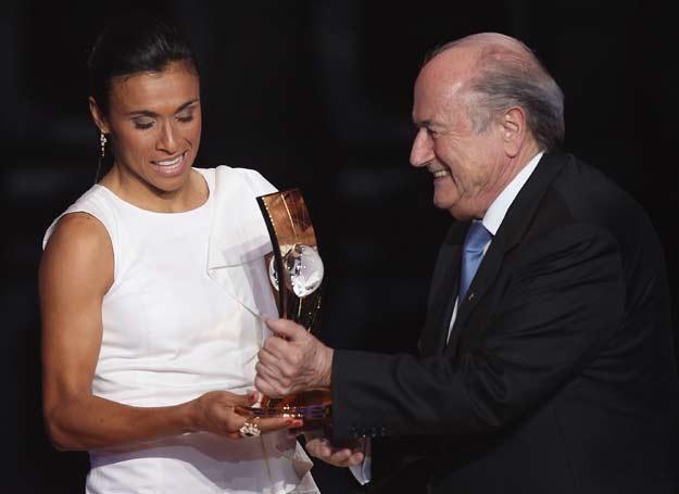 FIFa po raz piąty uznało ją najlepszą piłkarką na świecie /Getty Images/Flash Press Media