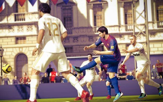 FIFA Street - motyw graficzny /Informacja prasowa