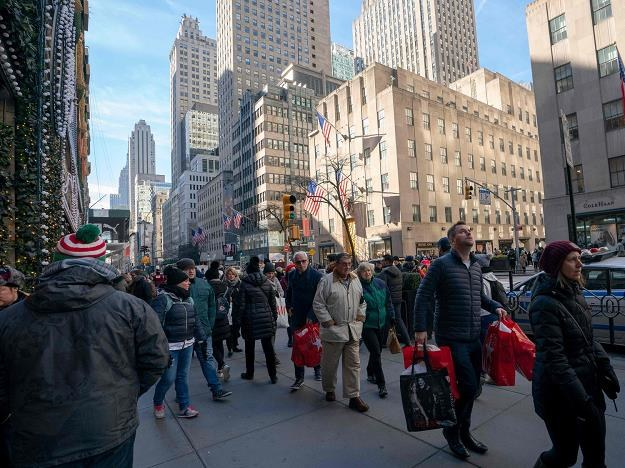 Fifth avenue New York /AFP