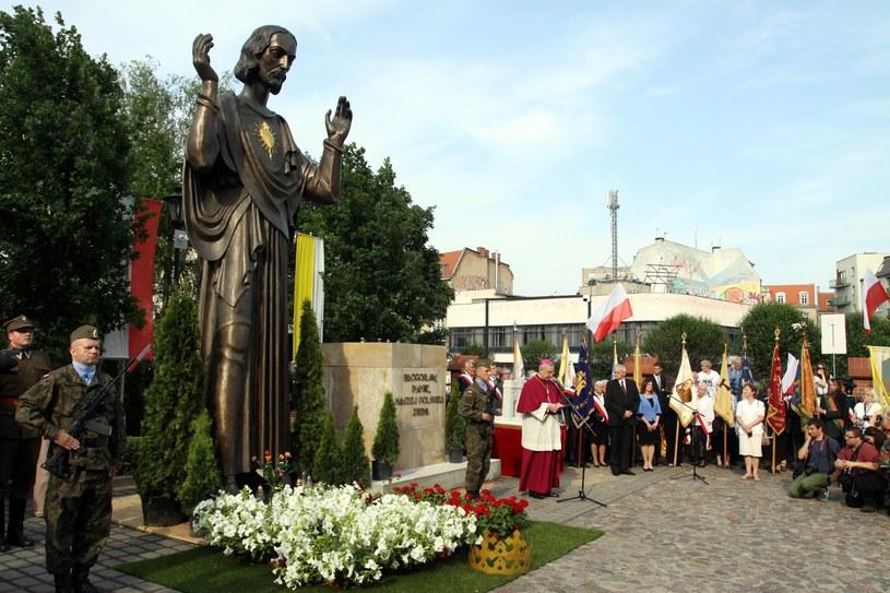Figura Chrystusa w Jeżycach /Mateusz Owsianny /Reporter