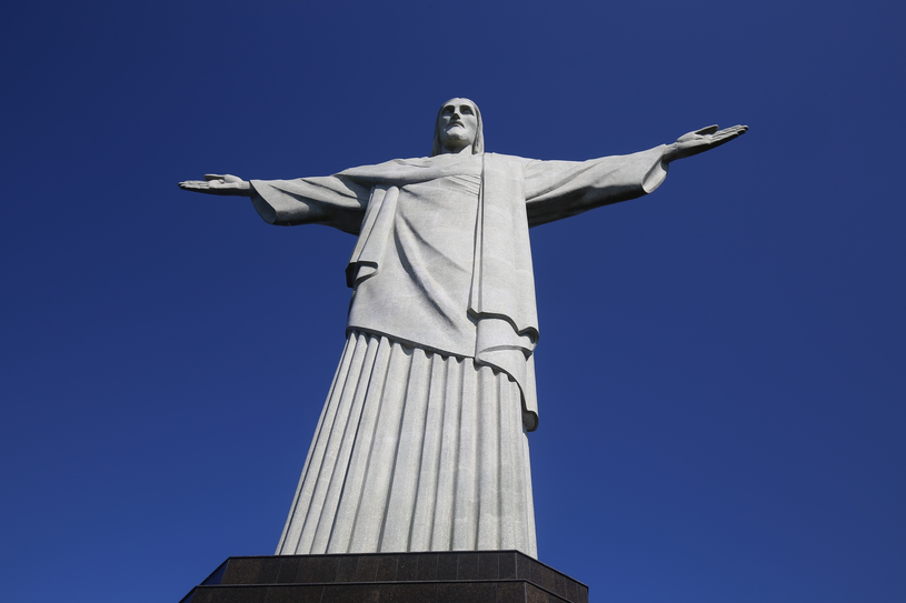 Figura Chrystusa w Rio de Janeiro /Daria Zagraba  /Reporter