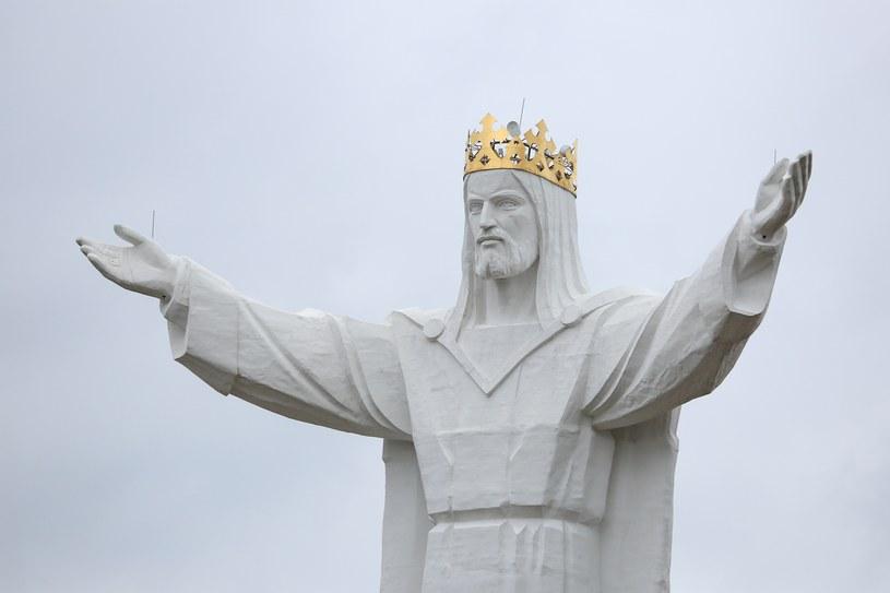 Figura Jezusa Chrystusa Króla Wszechświata w Świebodzinie /Tomasz Kawka /East News