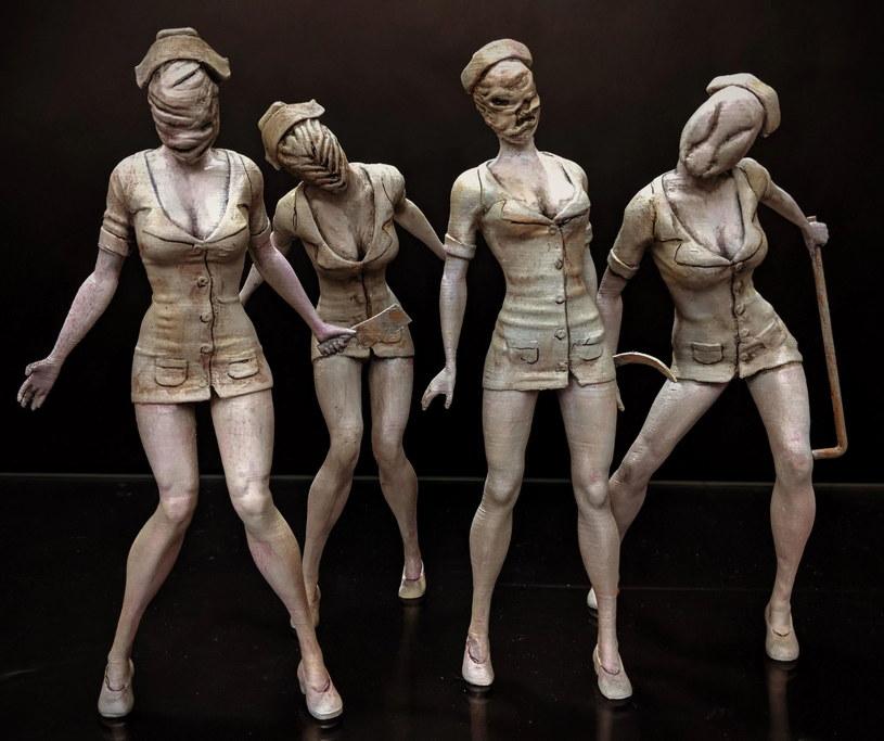 Figurki pielęgniarek z Silent Hill 2 /materiały prasowe