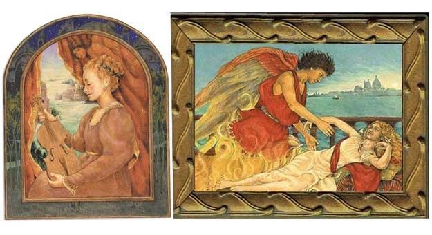 Filamena Ziani (po lewej), Amor i Psyche (po prawej) Muzeum Miłości /materiały prasowe