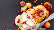Filet czosnkowy z jabłkami