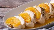 Filet w sosie pomarańczowym