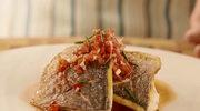 Filet z dorady z cytrusowym dressingiem