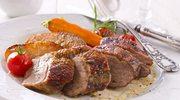 Filet z gęsi śliwkowo-imbirowy