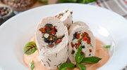 Filet z indyka po grecku z fetą i oliwkami
